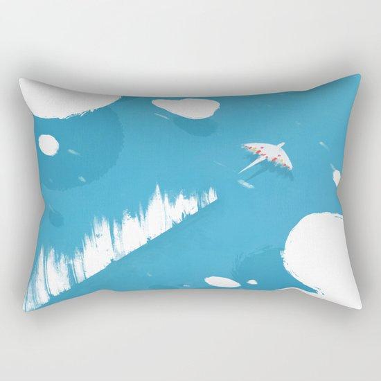 sea skimmer Rectangular Pillow