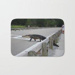 Alligator Watch Bath Mat