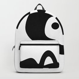 Pigs Will Fly (b&w) Backpack