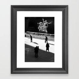 Rockefeller Center Framed Art Print