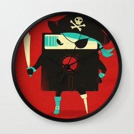 Software Pirate Wall Clock