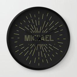 MICHAEL Wall Clock