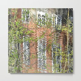 reflected in the nature Metal Print