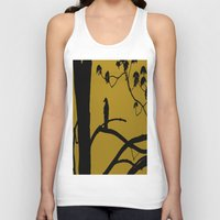 golden Tank Tops featuring Golden by Karol Livote