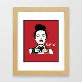 Katie McGrath - KMcG Framed Art Print