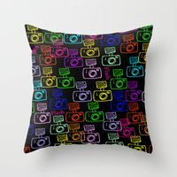 flash Throw Pillows featuring Flash by LoRo  Art & Pictures