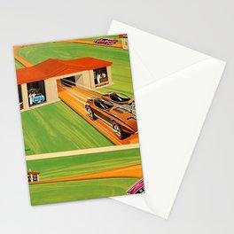 Rare Vintage Redline Hot Wheels Super Charger Trade Print Poster Stationery Cards