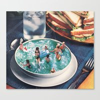 SOUP DU JOUR Canvas Print