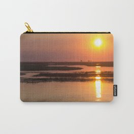 Sunset over the Okavango Delta Carry-All Pouch