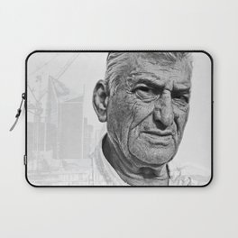 Architect double exposure Laptop Sleeve