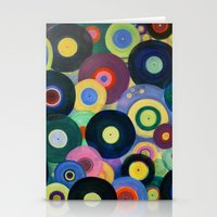 record Stationery Cards featuring Record High by Femi Ford