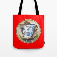 antique Tote Bags featuring Antique by gbcimages