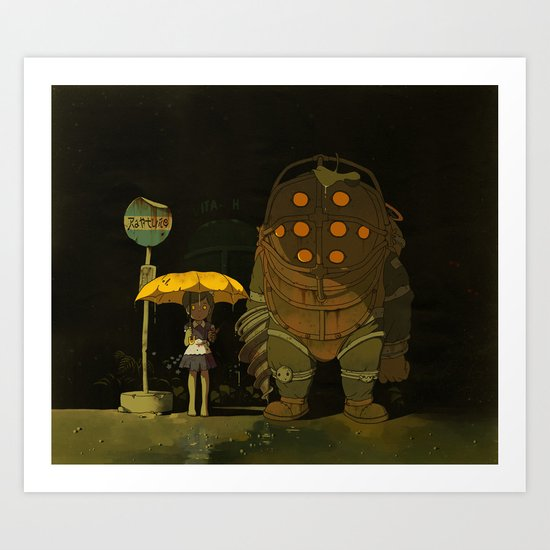 Big Friend Art Print