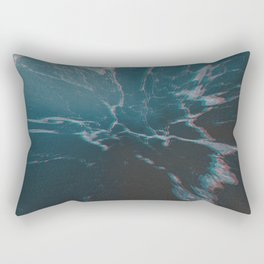 marbled ice Rectangular Pillow