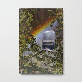 Rainbow Travel Metal Print