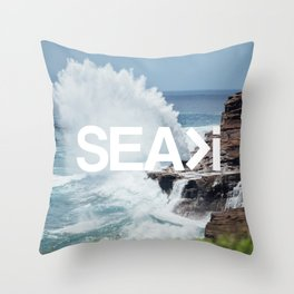 SEA>i | HEAVEN'S POINT Throw Pillow