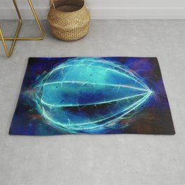 'Harbinger' inverted Rug
