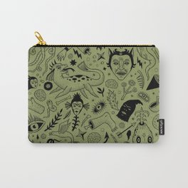 Curious Collection No. 2  Carry-All Pouch
