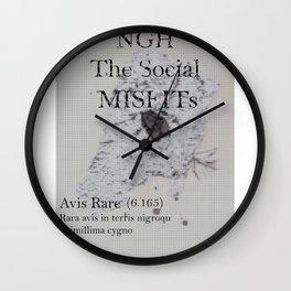 The SocialMisfits // NGH Wall Clock