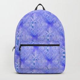 Blu Wicker Pattern Backpack
