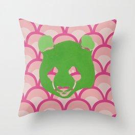 PANDA WAVES Throw Pillow