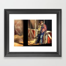 William and Theodore 22 Framed Art Print