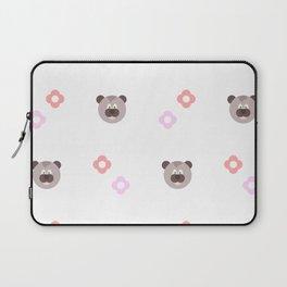 Cute Bear Pattern Laptop Sleeve