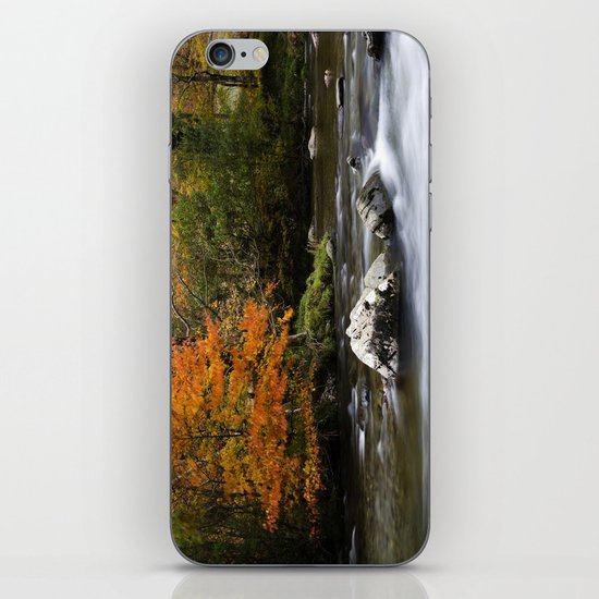 Pass of Aberglaslyn, Nanmor Valley, North Wales, Snowdonia, UK, iPhone & iPod Skin