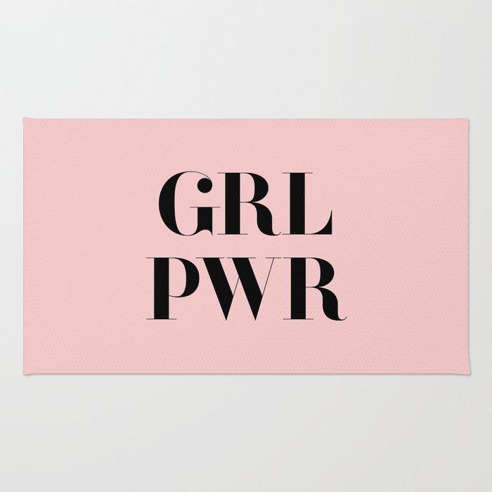 Girl Power - GRL PWR Rug