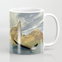 dolphins Mugs featuring Dolphins by nicky2342