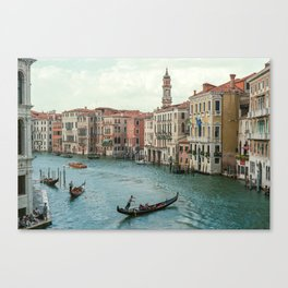 The Grand Canal of Venice Canvas Print