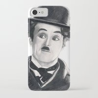 charlie chaplin iPhone & iPod Cases featuring Charlie Chaplin by Art by Boothe