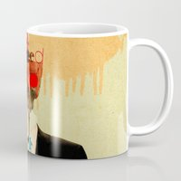 motivation Mugs featuring Mankind Motivation 1 by Marko Köppe
