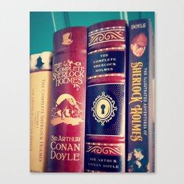 Library of Sherlock Holmes Canvas Print