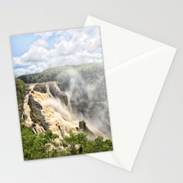 Barron Falls under a summer sky Stationery Cards
