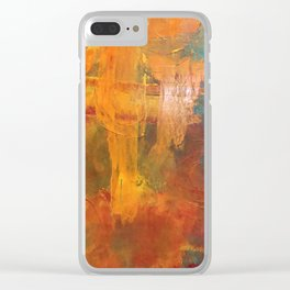 Desert Storm Clear iPhone Case