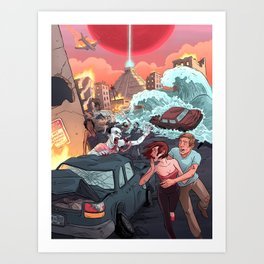 2012: THE END OF THE WORLD! Art Print