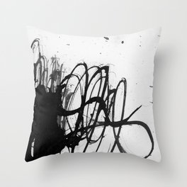 line stain dynamics Throw Pillow