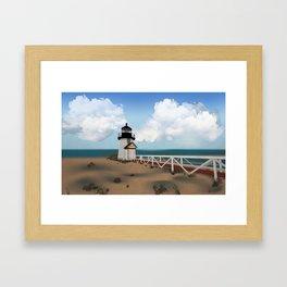 Brant Point Light Framed Art Print