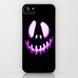 halloween. Jack O Lantern Purple iPhone Case