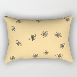 Bee Strong Rectangular Pillow