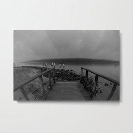 Hudson Fog Metal Print