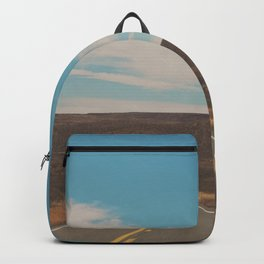 explore. adventure. Open Road Backpack