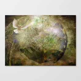 Trees For Peace Canvas Print