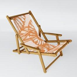 AMMONITE COLLECTION ORANGE Sling Chair
