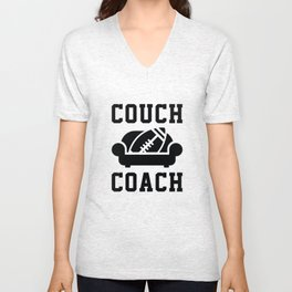 Couch Coach Unisex V-Neck