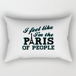 The Paris Of People - Brooklyn Nine-Nine Rectangular Pillow