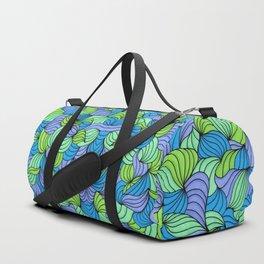 Green Waves Duffle Bag
