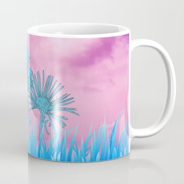 Flowers in grass Coffee Mug