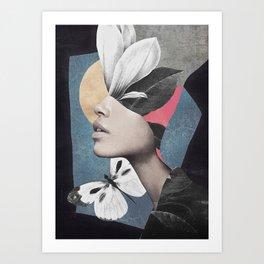 Portrait/Collage Art Art Print